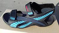Мужские легкие кожаные босоножки Reebok sport -comfort