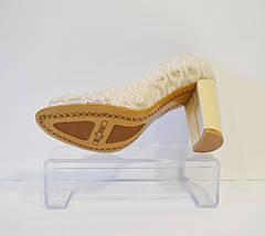 Туфли женские с открытыми пальчиками Livier, фото 3