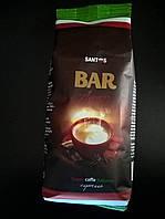 Кофе молотый Santos Bar Aroma баварский шоколад, 250г.