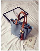 Жіноча сумочка бахрома, фото 3