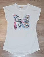 """Красивая футболка для девочки 8-14 лет, """"Zelish"""" Турция"""