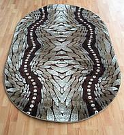 Рельефный ворсовый ковер Kristal 3182
