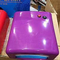 УФ лампа для наращивания ногтей 36 Вт 818 (фиолетовая)