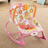 """Массажное кресло-качалка """"Банни"""" (до 18 кг) (Y8184) Fisher-Price"""