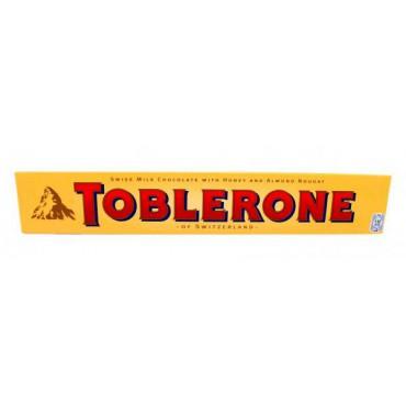 Шоколад Toblerone с медом и миндальной нугой, 100г