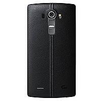 LG G4 Задняя часть корпуса (крышка аккумулятора) Leather Black
