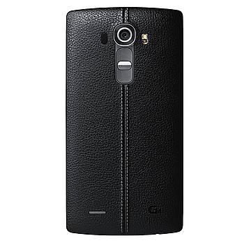 LG G4 Задня частина корпусу (кришка акумулятора) Leather Black