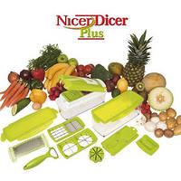 Овощерезка Nicer Dicer Plus Найсер Дайсер Плюс НИЗКАЯ ЦЕНА Зеленый