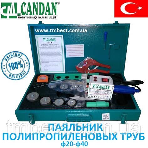 Паяльник для пластиковых труб Candan СМ-03 Турция 1500 W, фото 2