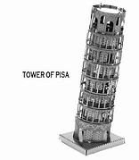 """Металлический конструктор 3D """"Пизанская башня"""""""