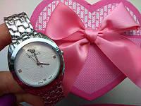 Женские часы Версаче серебренные