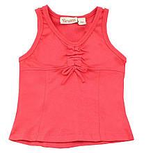 Итальянская футболка-майка с бантиком для малышки, для девочки