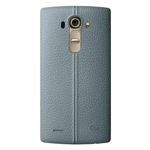 LG G4 Задняя часть корпуса (крышка аккумулятора) Leather Blue