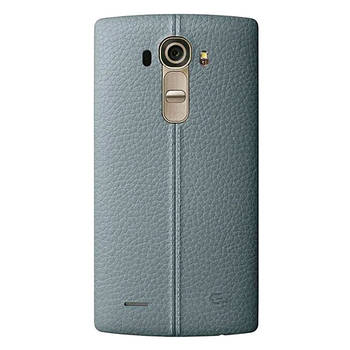 LG G4 Задня частина корпусу (кришка акумулятора) Leather Blue
