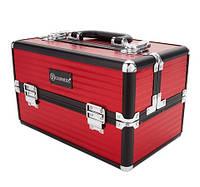 Кейс для косметики красный Makeup Train Case (Red) BH Cosmetics Оригинал