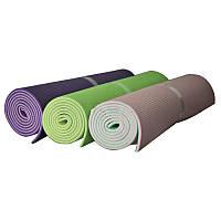 Коврик для йоги Fitex MD9010 (3 мм) зеленый