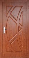 Двери входные металлические обшитые МДФ с одной стороны