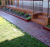 Штампбетон, декоративный бетон - устройство, ремонт, сервис