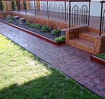 Декор-бетон (декоративный бетон) - устройство, ремонт, сервис