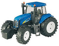 Bruder Трактор New Holland T8040 1:16 Синий