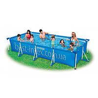 Intex 28273 (450-220-84 см.) Каркасный бассейн Rectangular Frame Pool