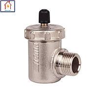 Угловой воздухоотводчик для радиатора 1/2 Icma