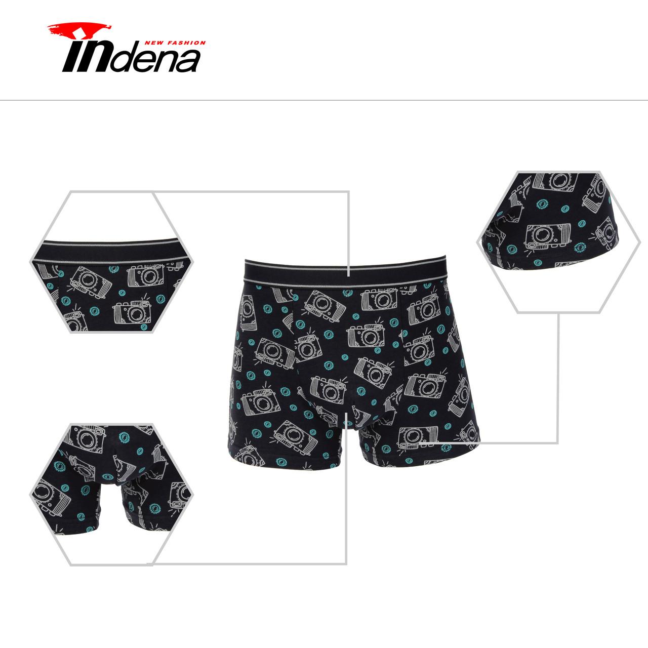 Подростковые стрейчевые шорты на мальчика Марка «INDENA» Арт.65523