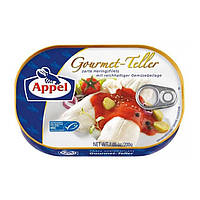 Филе сельди Appel Gourmet Teller Hering Filets with Rich Vegetable Sauce, 200 грамм