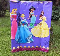 """Пеленатор мягкий стандартный, пеленальная доска на кроватку """"Принцессы"""""""