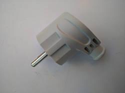 Сетевая электрическая вилка (угловая)