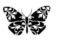 Виниловая наклейка- Бабочка 31