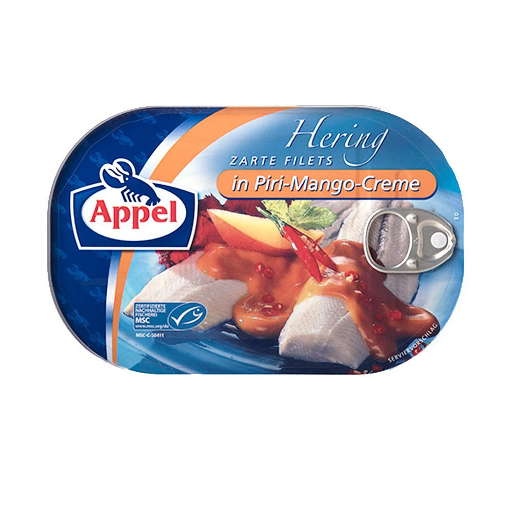 Филе сельди Appel Herring Filets in Piri-Mango Cream Sauce 200 гр.