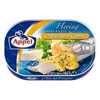 Филе сельди Appel Herring Filets In Eier Senf Creme 200 гр.