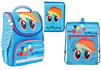 """Комплект школьный. Рюкзак """"My Little Pony"""" LP17-501S-2, Пенал и Сумка, ТМ  KITE"""