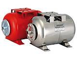 Гидроаккумулятор «Насосы Плюс оборудование» HT 24SS (нержавеющий бак 24 л), фото 2