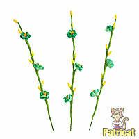 Мятные Веточки вишни Цветы с почками 13 см 5 шт/уп