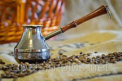 """Медная турка 200 мл """"Орнамент"""" для кофе"""