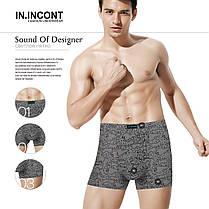"""Чоловічі боксери стрейчеві марка """"IN.INCONT"""" Арт.3554, фото 2"""