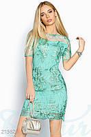 Вечернее платье футляр, ажурное  S M L