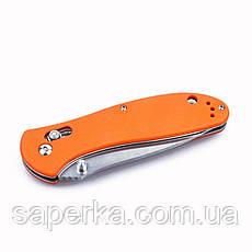 Нож универсальный Ganzo (оранжевый, черный, зеленый) G7392-OR, фото 2