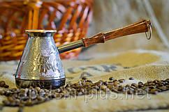 """Медная турка 300 мл """"Орнамент"""" для кофе"""