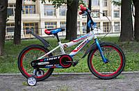 Детский двухколесный велосипед Азимут Файбер Azimut Fiber 16 дюймов