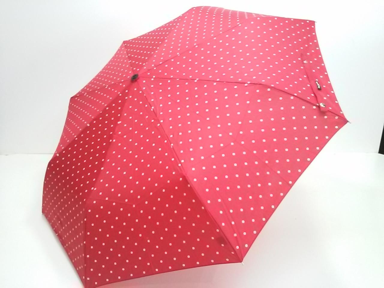 Зонт Guy Laroche красный в горошек