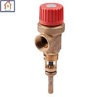 Предохранительный клапан температуры 1/2 и 3/4 Icma
