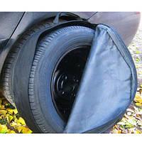 Защитный чехол для запасного колеса, кожзам (R13-R18)