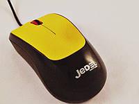 Мышь компьютерная проводная USB C39 (цвета в ассортименте)