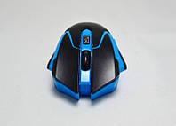 Мышь компьютерная AVAN беспроводная + радио USB (цвета в ассортименте)