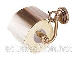 Бронзовый держатель для туалетной бумаги KUGU Versace Antique 211A
