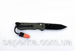 Нож туристический Ganzo (черный, зеленый, оранжевый) G7453-BK-WS, фото 3