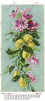 """Схема для вышивания бисером """"Панно с лимоном""""5126"""